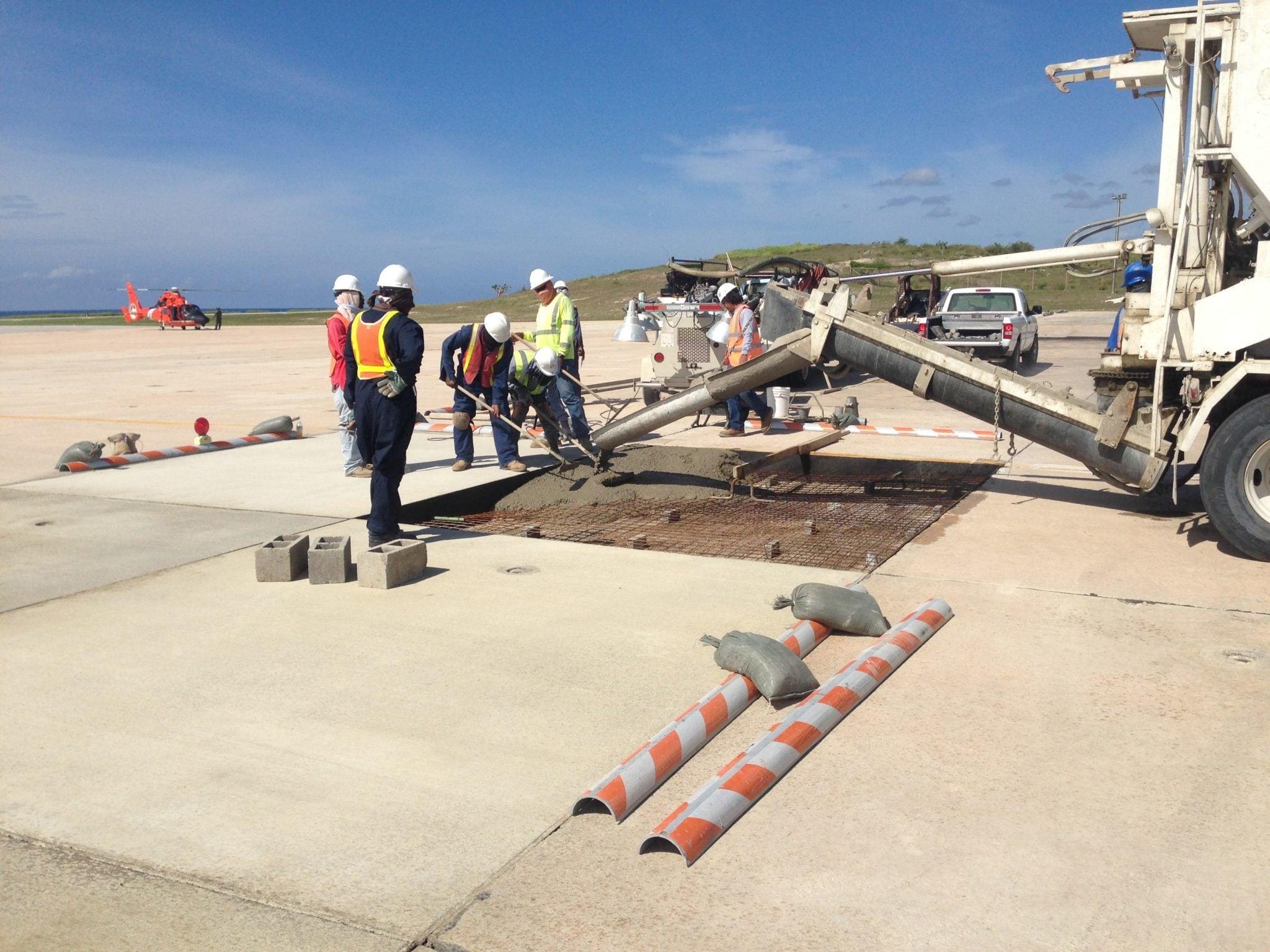 Leeward Runway Apron Repairs